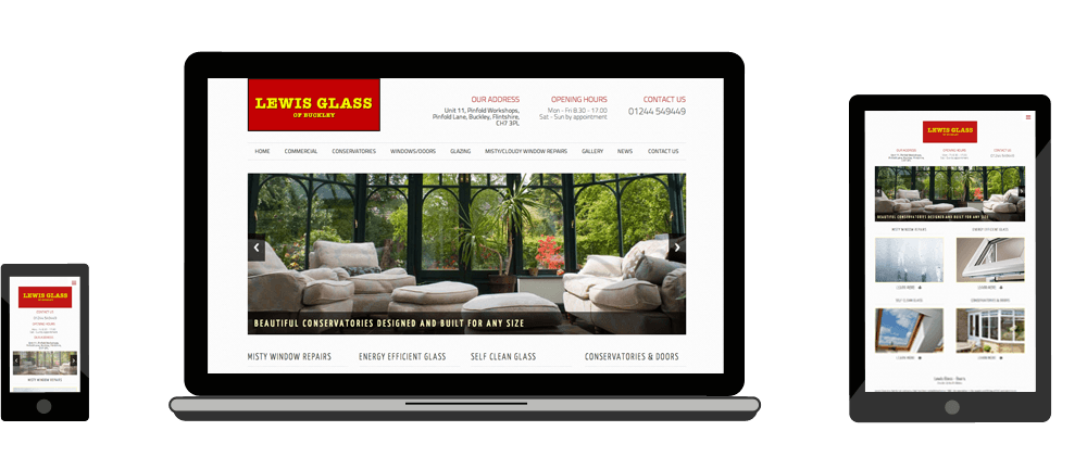 We can build a website suited to any industry