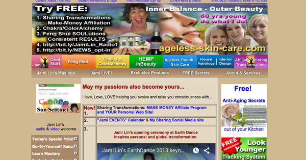 Supposed Feng Shui website